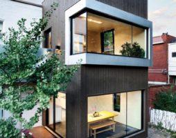 Увеличения площади старого дома в условиях городской архитектуры