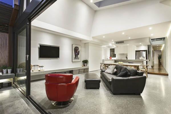 Мельбурнский дом получает современное, изящное дополнение 4