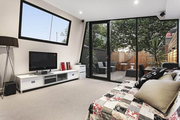Мельбурнский дом получает современное, изящное дополнение 6