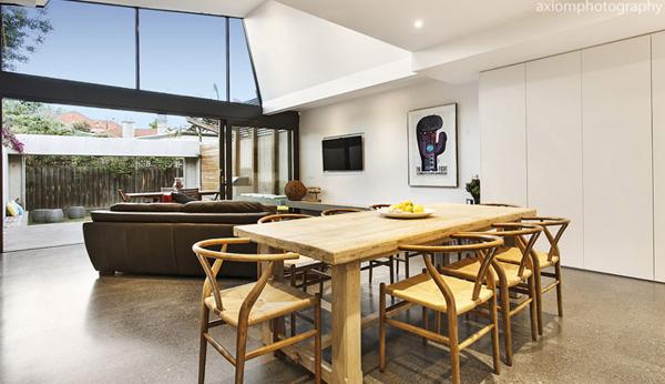 Мельбурнский дом получает современное, изящное дополнение 9