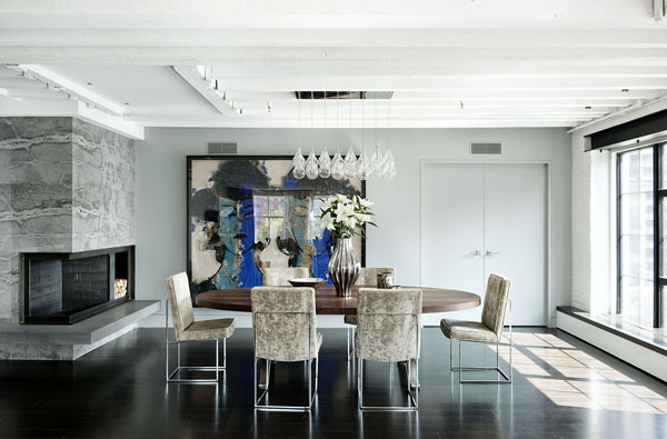 Светлый лофт от дизайн-бюро Девида Хауэлля 6