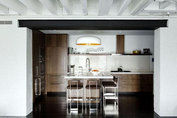 Светлый лофт от дизайн-бюро Девида Хауэлля 8