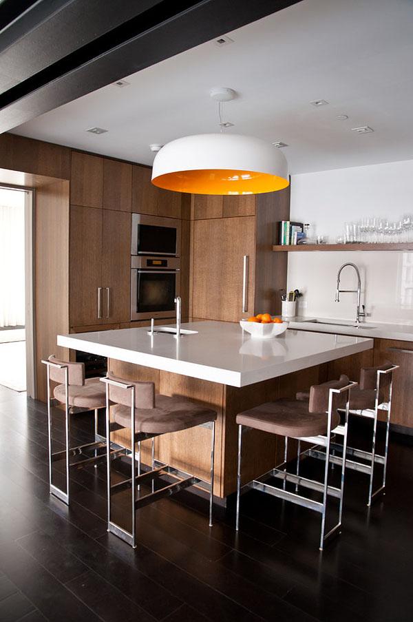 Светлый лофт от дизайн-бюро Девида Хауэлля 10