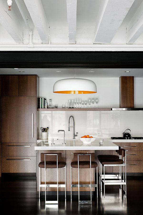 Светлый лофт от дизайн-бюро Девида Хауэлля 11