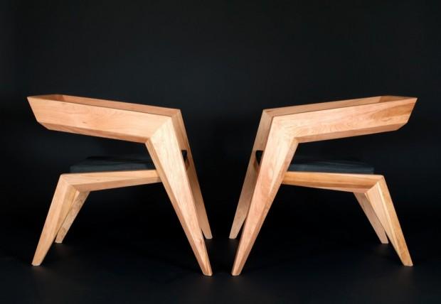 В стиле авангардного минимализма: кресло 2R от студии Сиен 5