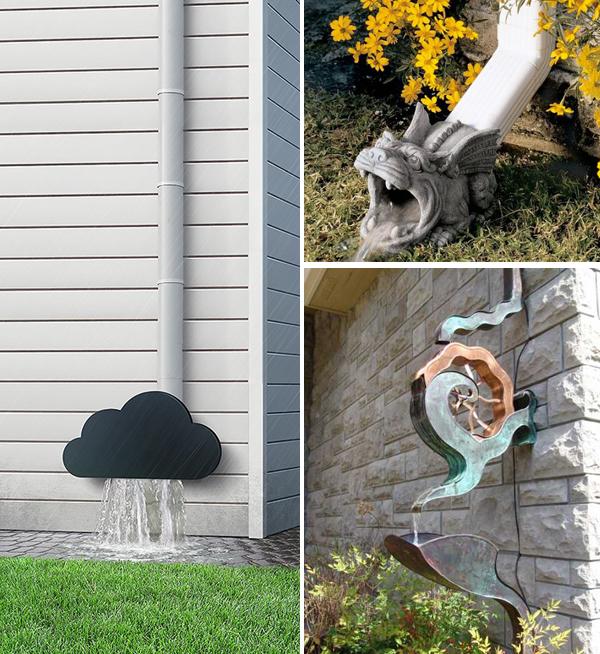 Творческие идеи для водосточных труб 6