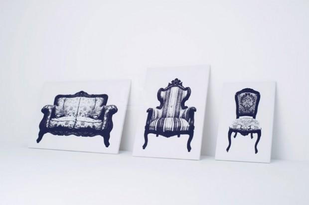 Интригующее кресло, которую можно повесить на стене от YOY Дизайн 5
