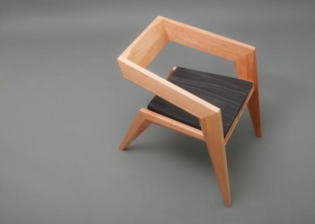 В стиле авангардного минимализма: кресло 2R от студии Сиен 7