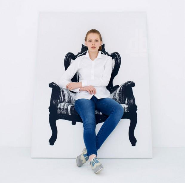 Интригующее кресло, которую можно повесить на стене от YOY Дизайн 6
