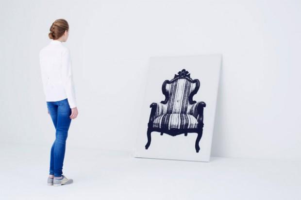 Интригующее кресло, которую можно повесить на стене от YOY Дизайн 7