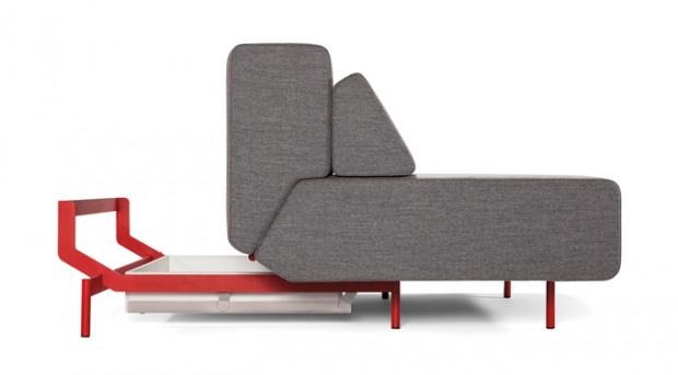 Удобный современный многофункциональный диван Pil-low 3