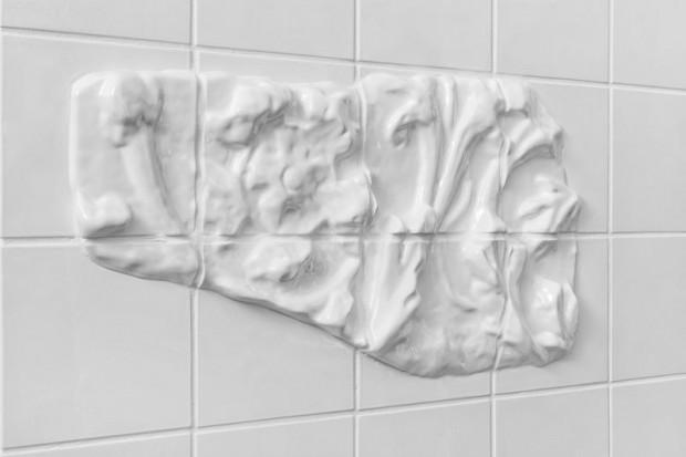 Оригинальная кафельная белая плитка 4