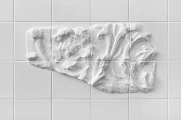 Оригинальная кафельная белая плитка 7