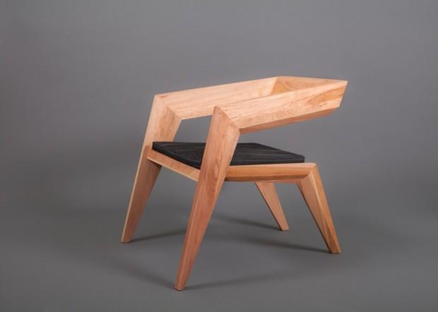 В стиле авангардного минимализма: кресло 2R от студии Сиен 9