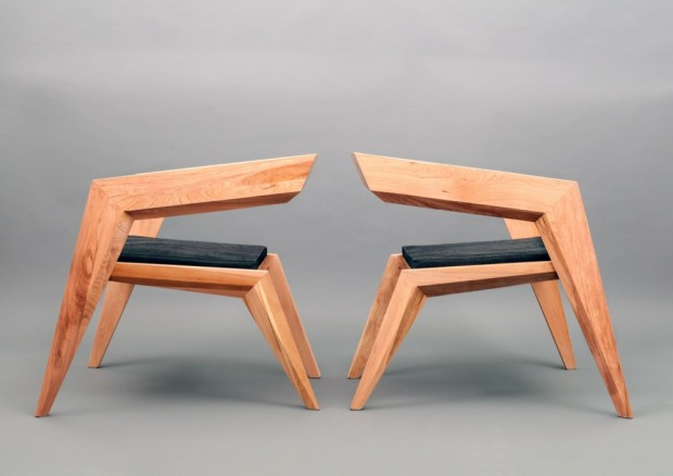 В стиле авангардного минимализма: кресло 2R от студии Сиен 11