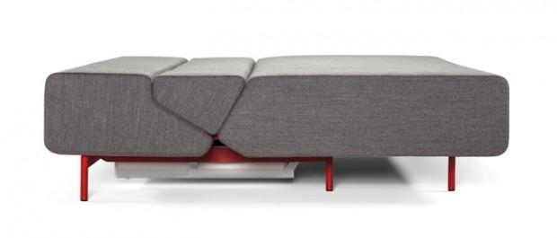 Удобный современный многофункциональный диван Pil-low 4