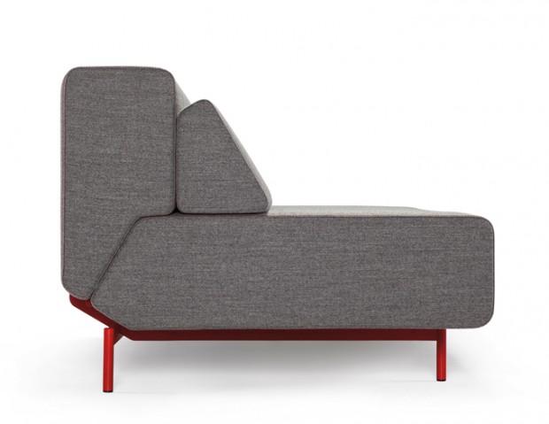 Удобный современный многофункциональный диван Pil-low 2