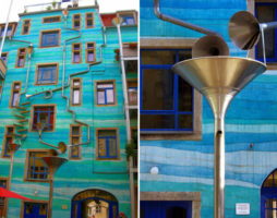 Пусть идет дождь: Творческие идеи для водосточных труб