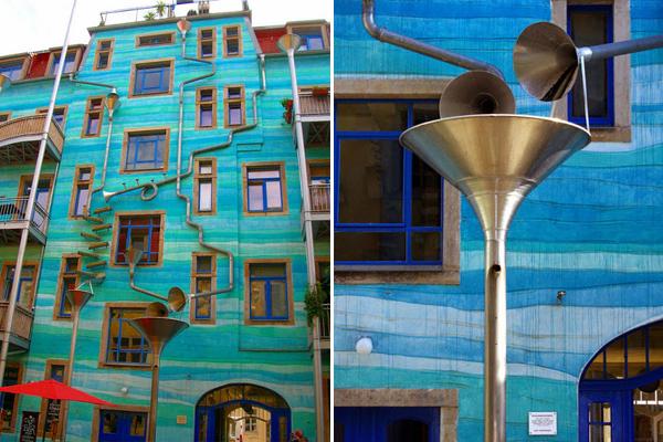 Творческие идеи для водосточных труб 2