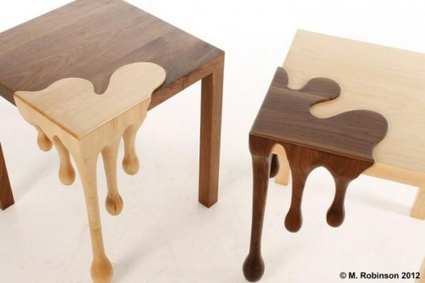Дизайнерский столик от Метта Робинсона 2