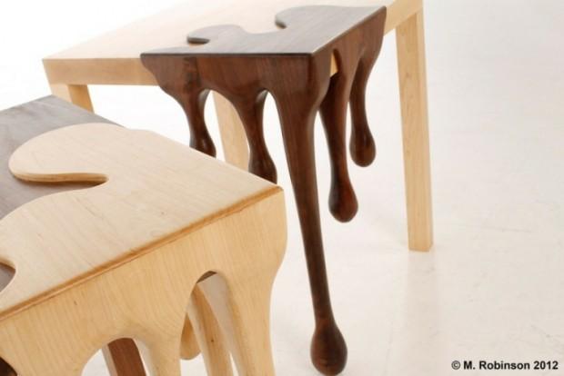 Дизайнерский столик от Метта Робинсона 4