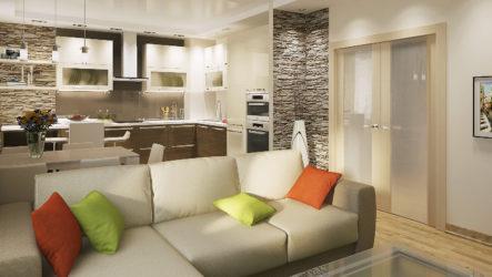 Как создать дизайн трехкомнатной квартиры?