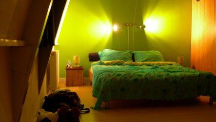 Бра настенные: украшаем интерьер спальни