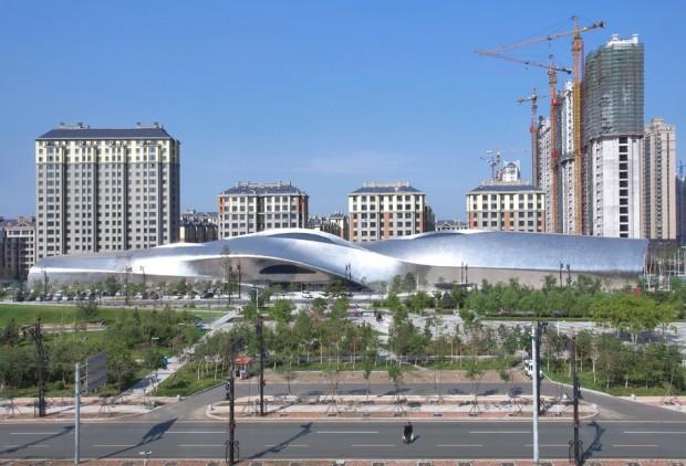 Удивительно здание в Китае