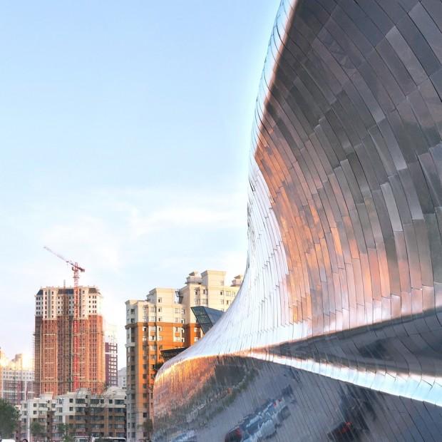 Удивительно здание в Китае 2