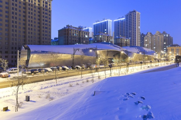 Удивительно здание в Китае 10