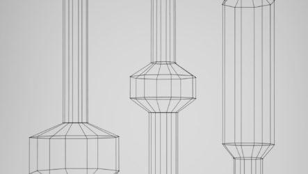 Элегантные и утонченные : Светильники WIREFLOW, зрительно создающие 2D освещение