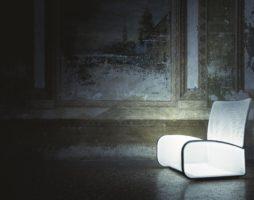 Кресло с подсветкой «Лайт ап»: легкое, прочное и элегантное