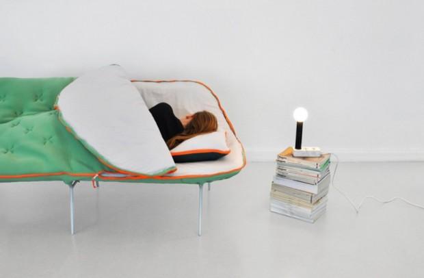 Лондонский дизайнер Стефани Хорниг создал легкую кушетку «Самр» 2