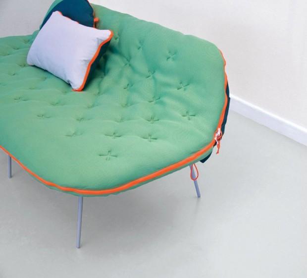Лондонский дизайнер Стефани Хорниг создал легкую кушетку «Самр» 3
