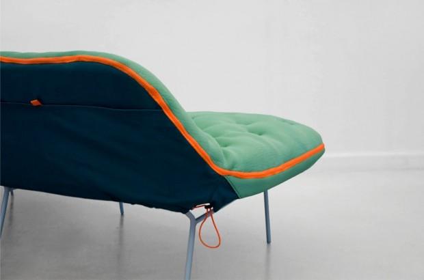Лондонский дизайнер Стефани Хорниг создал легкую кушетку «Самр» 4