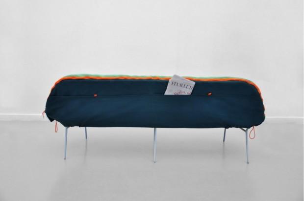 Лондонский дизайнер Стефани Хорниг создал легкую кушетку «Самр» 5