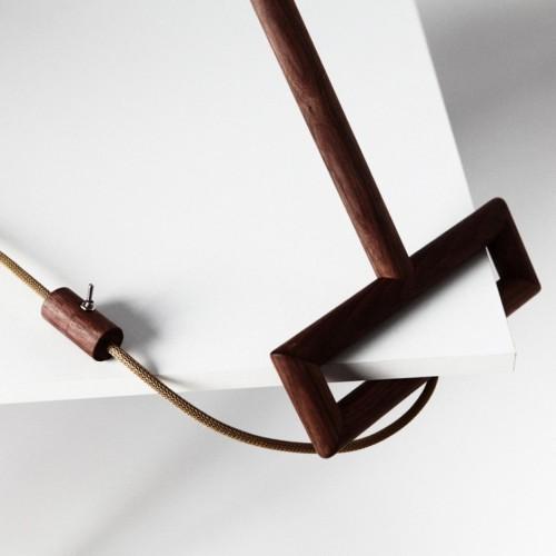 Элегантная дизайнерская угловая лампа 5
