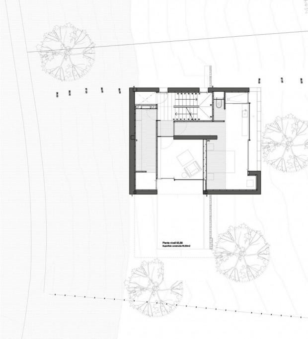 Дом на сложном рельефе 12