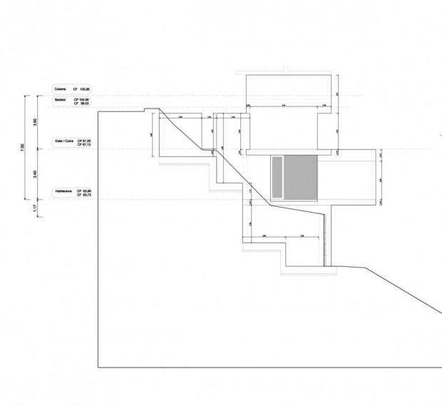 Дом на сложном рельефе 16