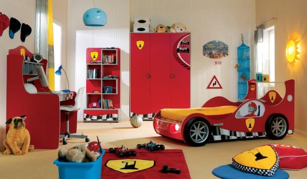 Детская комната для мальчиков в стиле кончика