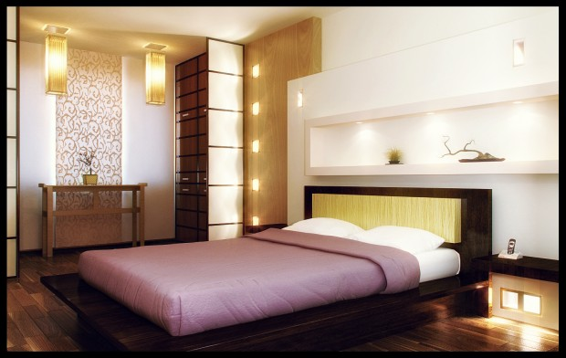 Спальная комната в трёшке