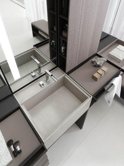 Ванная комната в стили минимализм