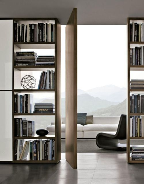 Библиотека в стили минимализм