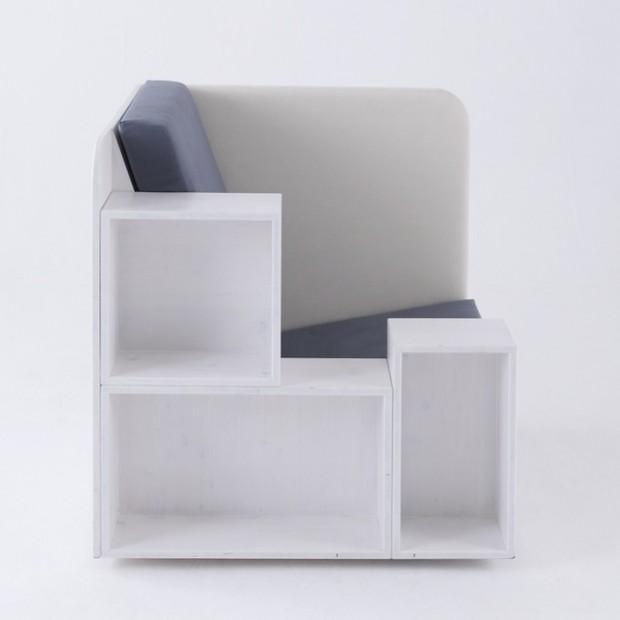 Модульное и многофункциональное кресло-офис 3