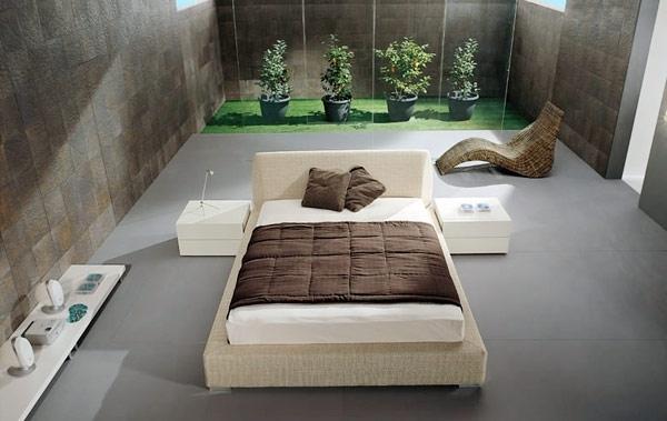 Спальня в стили минимализм