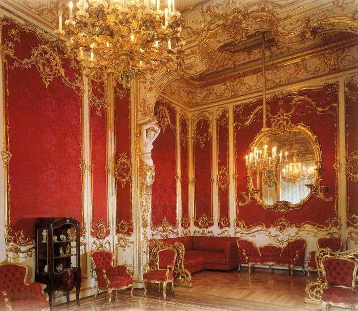 Интерьеров в стиле барокко