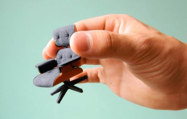 Культовое кресло Эймс в миниатюре
