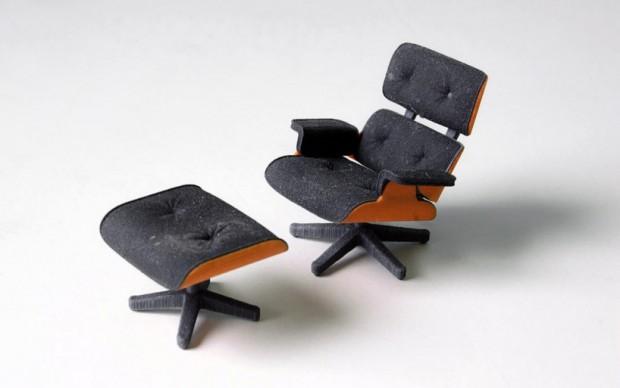 Культовое кресло Эймс в миниатюре 2