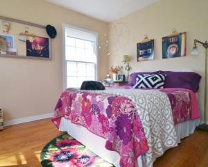 Спальная комната в стиле китч