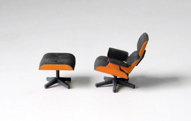 Культовое кресло Эймс в миниатюре 3
